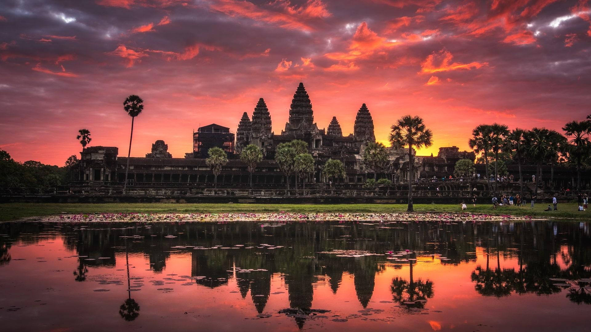 Angkor Wat Tempel Reise Kambodscha
