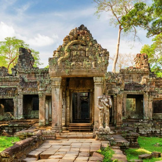 Angkor Wat Tempel Kambodscha