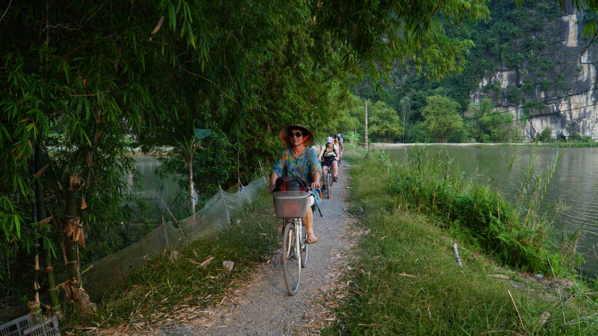Go-Indochine cycling tour Ninh Binh Vietnam