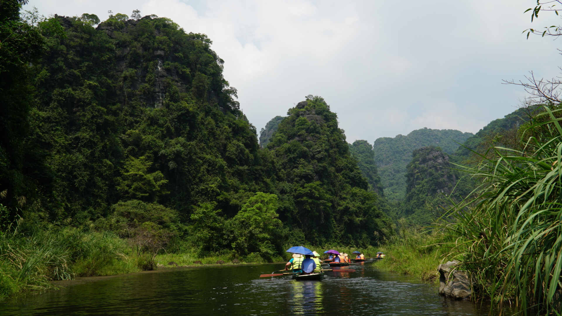 Go-Indochine boat tour Ninh Binh