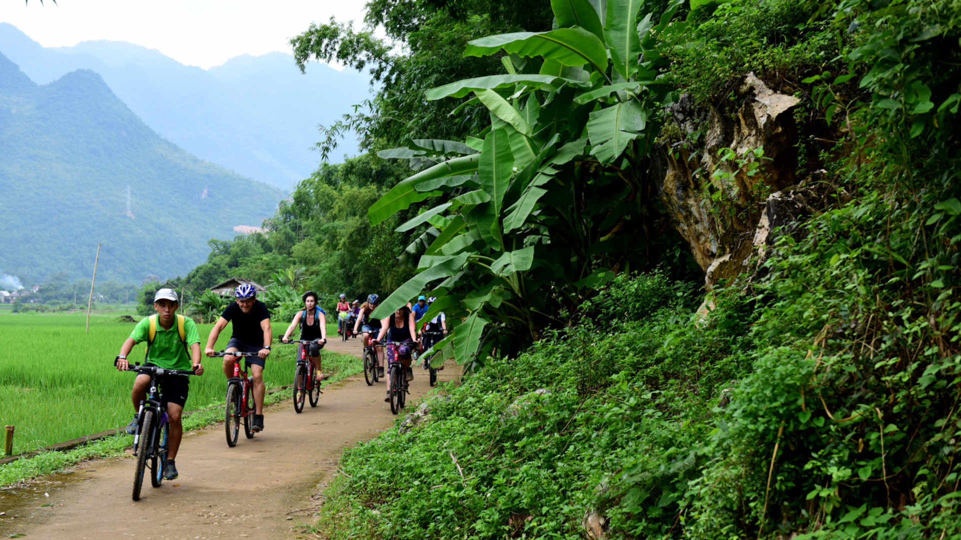 Go-Indochine cycling tour May Chau Vietnam