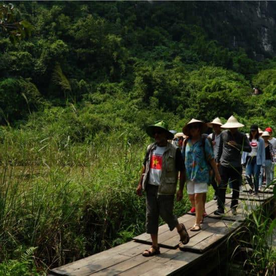 Go-Indochine trekking tour Ninh Binh