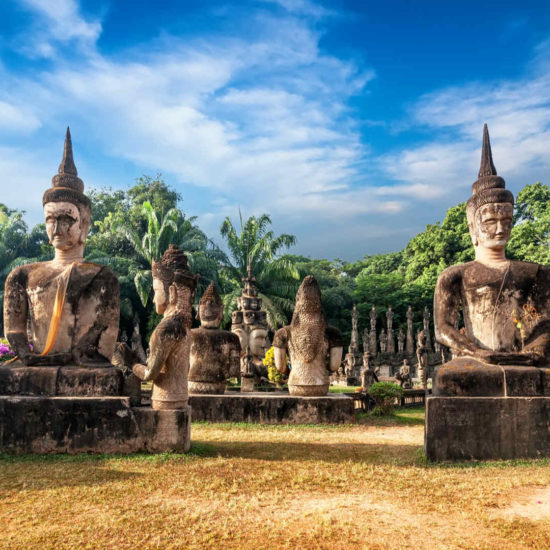 Wat Xieng Khuan Buddha. Vientiane, Laos