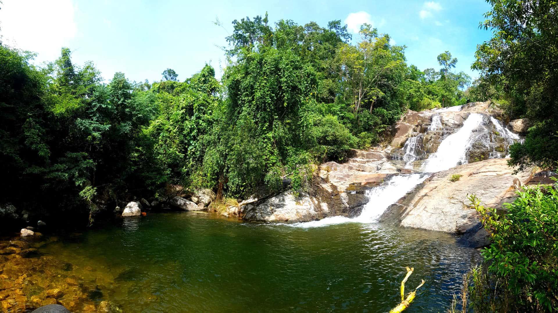 Wasserfall Mid Highlands Dak Lak Provinz Vietnam