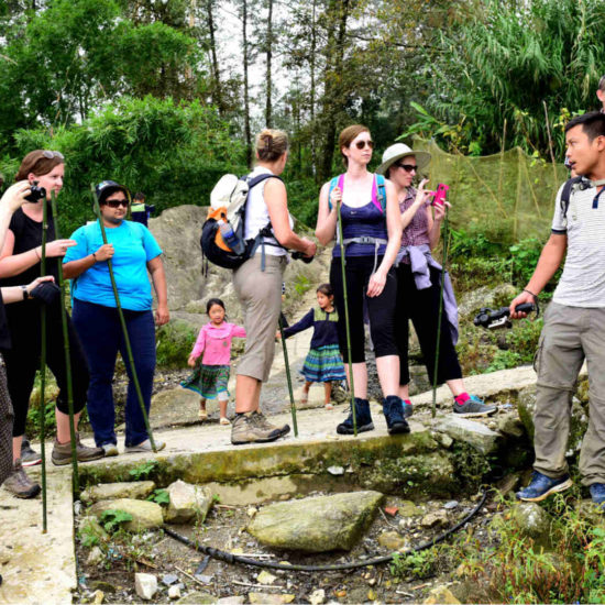 Go Indochine trekking with local guide Vietnam