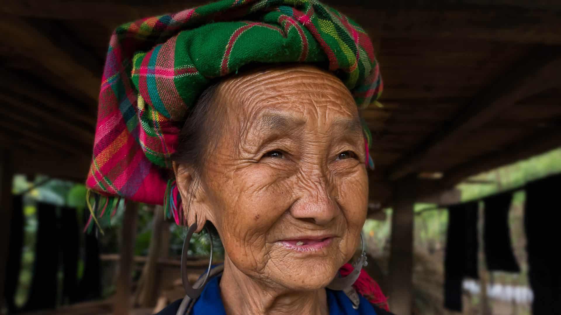 Old Women in Mu Cang Chai, YenBai, Vietnam