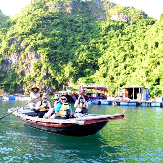 Go-Indochine-Halong Bucht Boots Tour