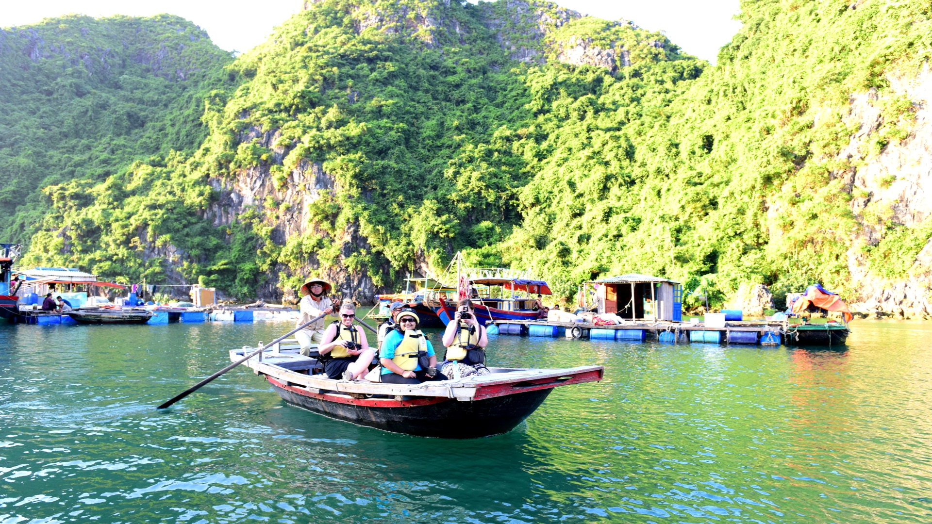 Go-Indochine-Halong Bucht Boots Tour
