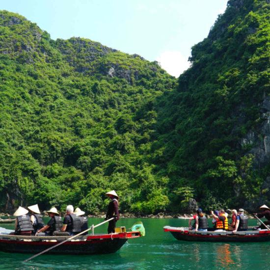 Go-Indochine Halong Bucht Boots Ausflug