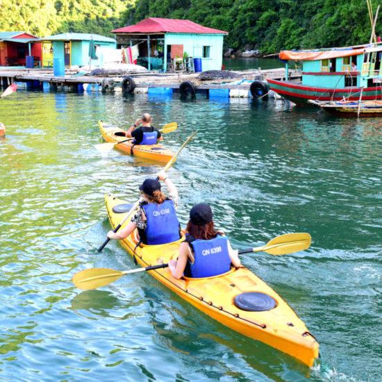 Go-Indochine Halong Bucht Kayak Tour