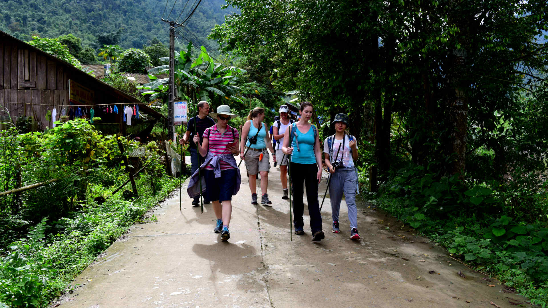 Go-Indochine guided trekking tour Sapa Vietnam