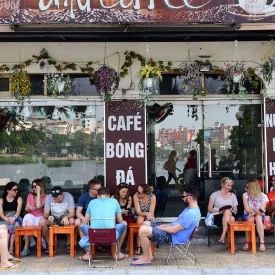 Go-Indochine Café in Hanoi